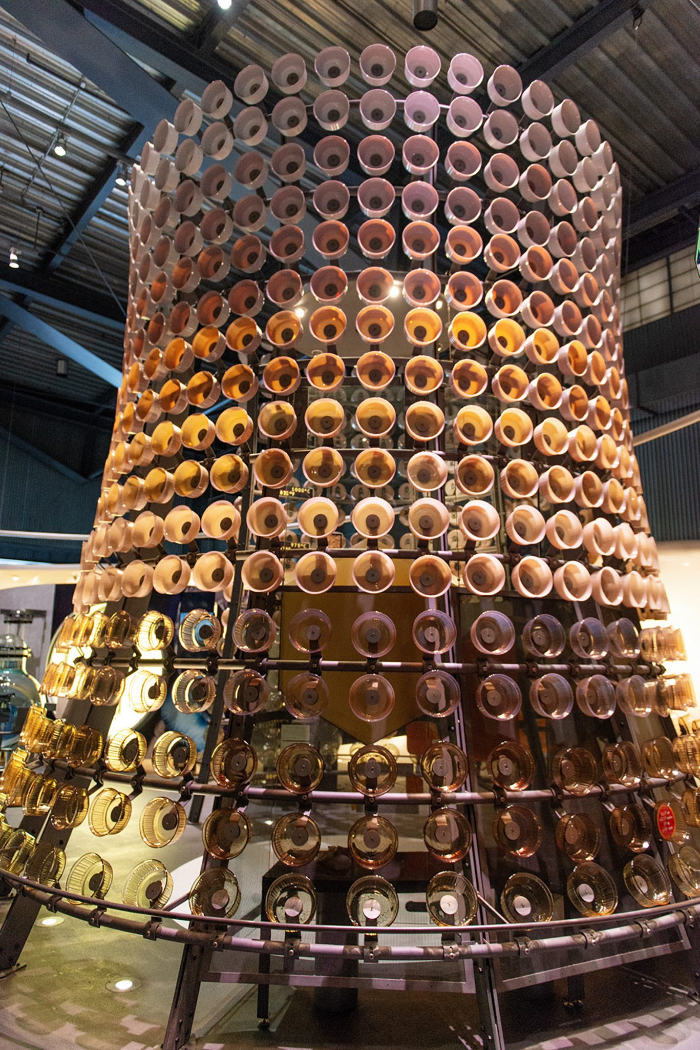Casserole Tower at the Corning Museum of Glass