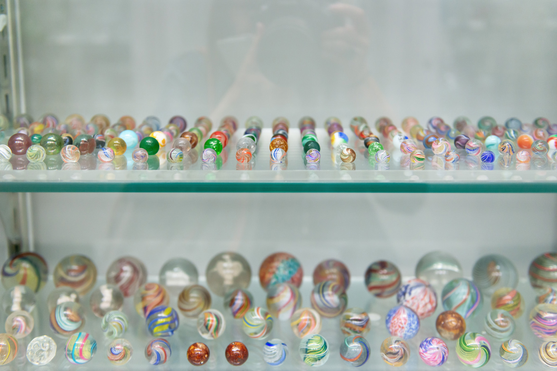 Marbles at the Corning Museum of Glass
