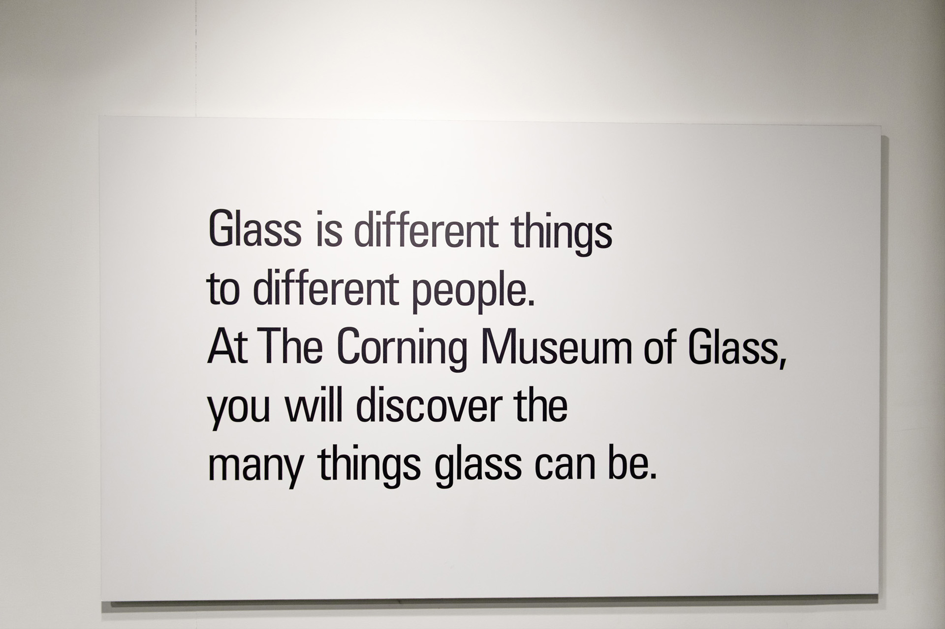 Glass is different thing to different people. At The Corning Museum of Glass, you will discover the many things glass can be.